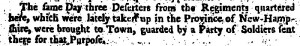 New Hampshire Gazette May 5, 1769