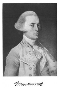 John Wentworth, Governor of Pre-Revolutionary New Hampshire